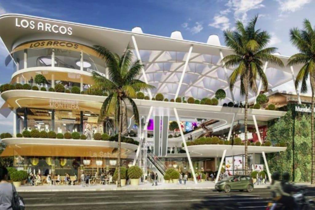 Así será la ampliación del centro comercial de Los Arcos