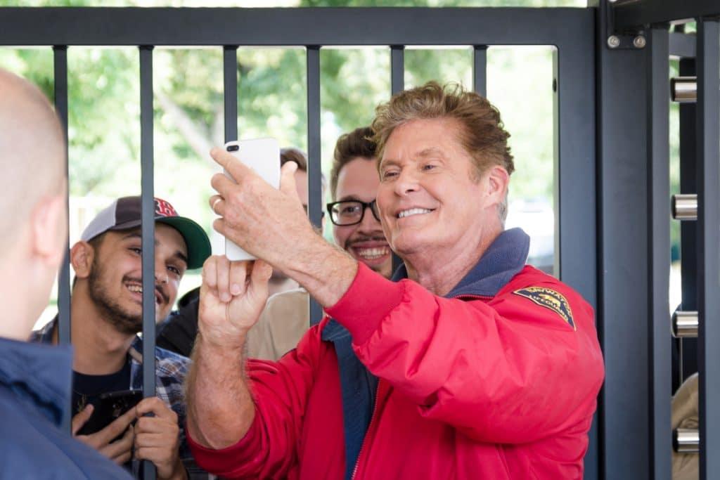 David Hasselhoff realizará hoy una firma de autógrafos en Sevilla