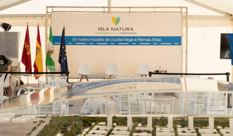Así será Isla Natura, el nuevo barrio sevillano en Palmas Altas