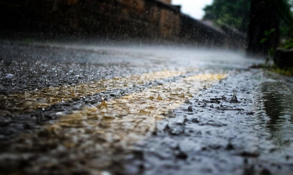 torino pioggia