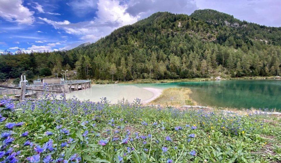 In Val Quarazza il bellissimo Lago delle Fate