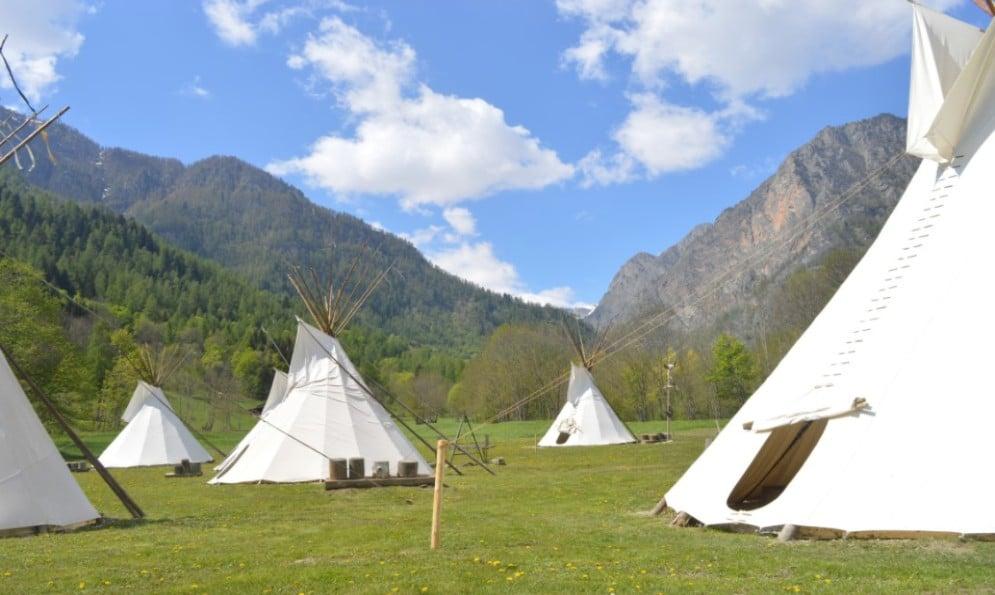 Tatanka Village: l'esperienza unica di un villaggio indiano a due ore da Torino