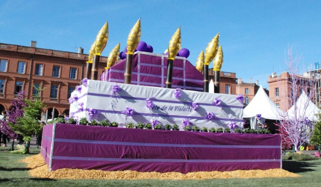 La Fête de la Violette revient ce week-end à Toulouse