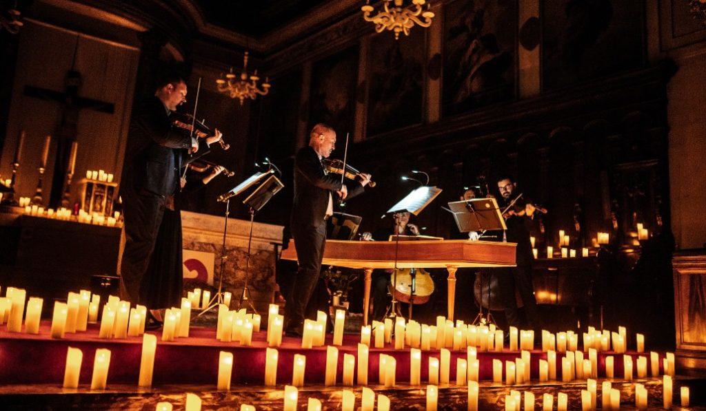 L'Église du Gésu accueille les concerts à la bougie Candlelight