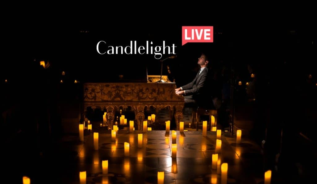 Candlelight Live Premium : un concert classique à la bougie en direct à la maison