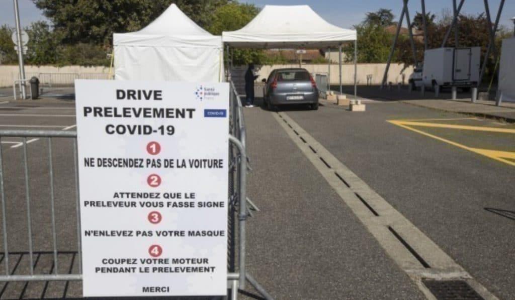 Coronavirus : des drives de dépistage sur ordonnance à Toulouse