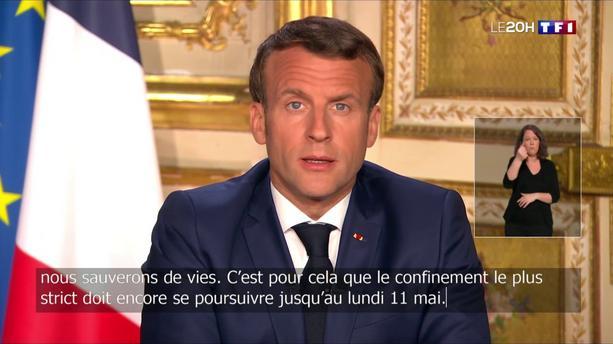 Coronavirus : le confinement est prolongé jusqu'au 11 mai en France