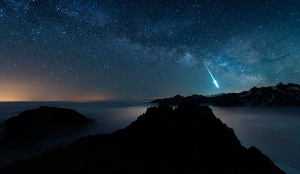 Insolite : une météorite a traversé les Pyrénées ce week-end !