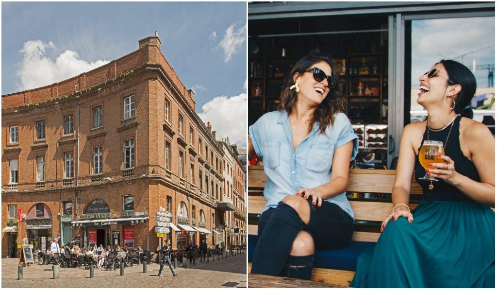 Toulouse : une première rue entièrement réservée aux terrasses de café !