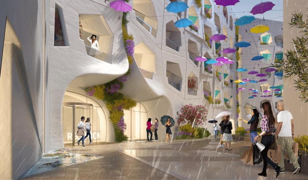 Dubaï va construire la première rue au monde où il pleut toute l'année !