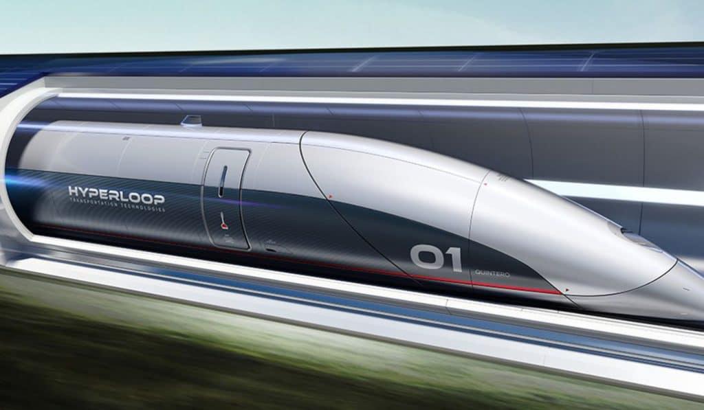 Toulouse pourrait accueillir le premier train-capsule supersonique mondial à 1000km/h !