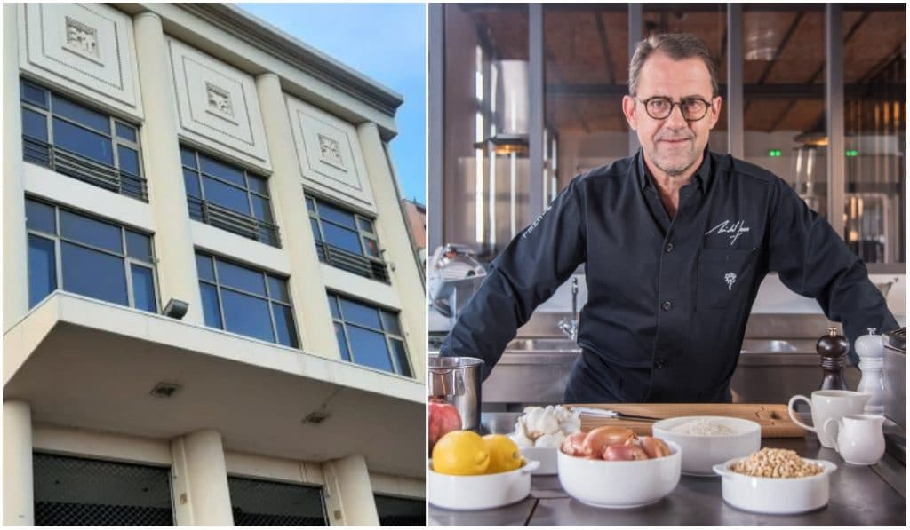 Un nouveau restaurant signé Michel Sarran bientôt sur le toit de l'ancien UGC !