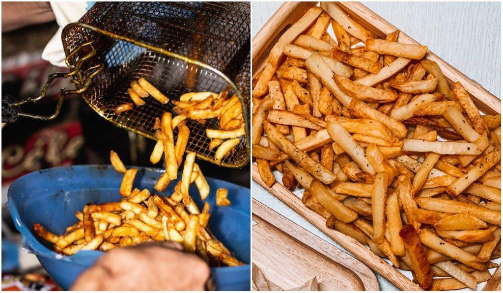 Insolite : cette friterie belge (et toulousaine) vous fait gagner votre poids en frites !