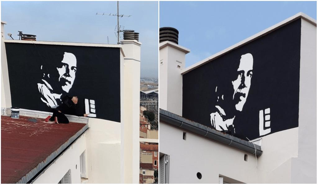Une magnifique fresque dédiée à Barack Obama naît à Toulouse !