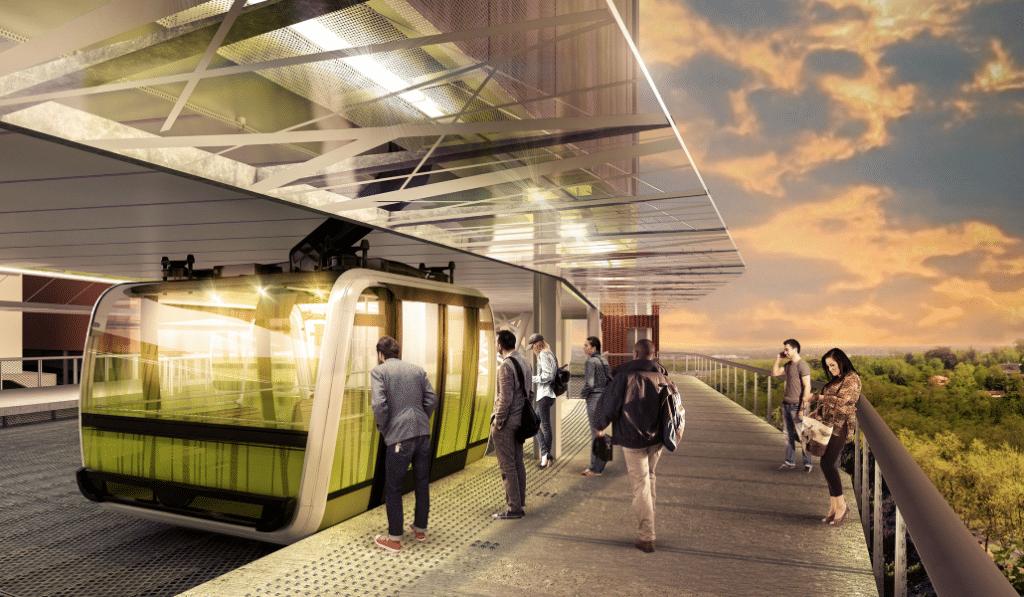 Découvrez en images le futur téléphérique de Toulouse !