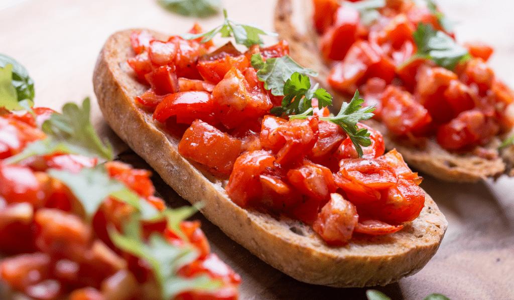 Recette : la bruschetta à l'italienne, la vraie de vraie !