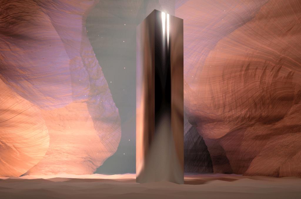 Un étrange monolithe en métal apparaît sur la colline de Pech-David !