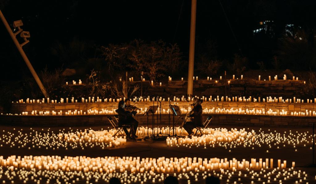 Candlelight Open Air : les concerts à la bougie illuminent le Manoir du Prince !