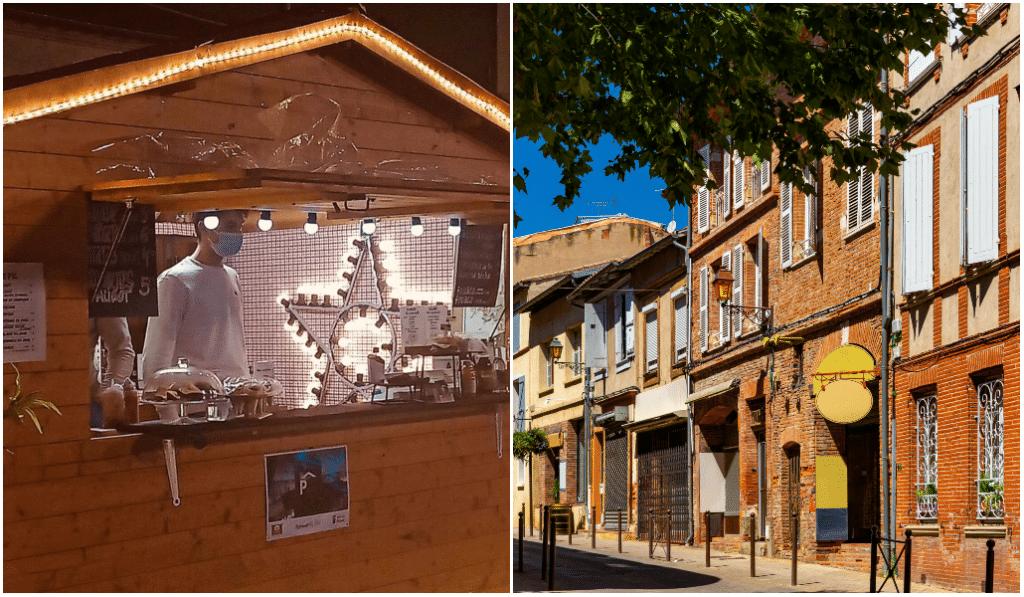 Food court : des chalets de restauration s'installent à deux pas de Toulouse !