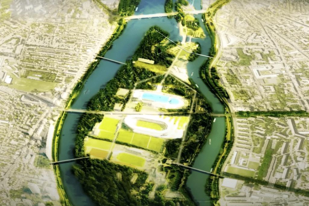 En images : voici comment l'Île du Ramier va devenir le futur Central Park toulousain !
