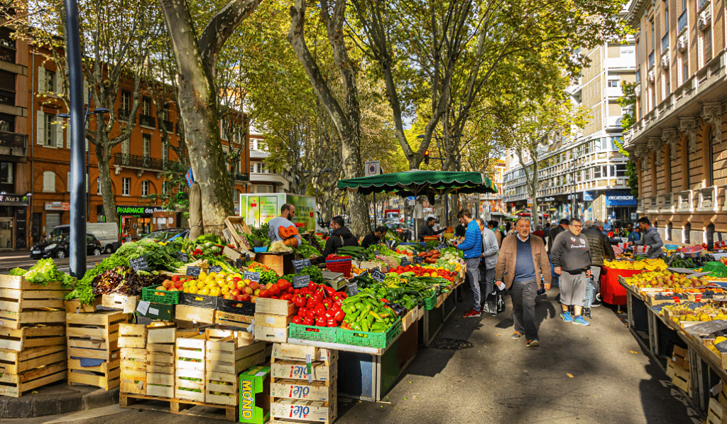 Trois nouveaux marchés en plein air vont voir le jour à Toulouse !