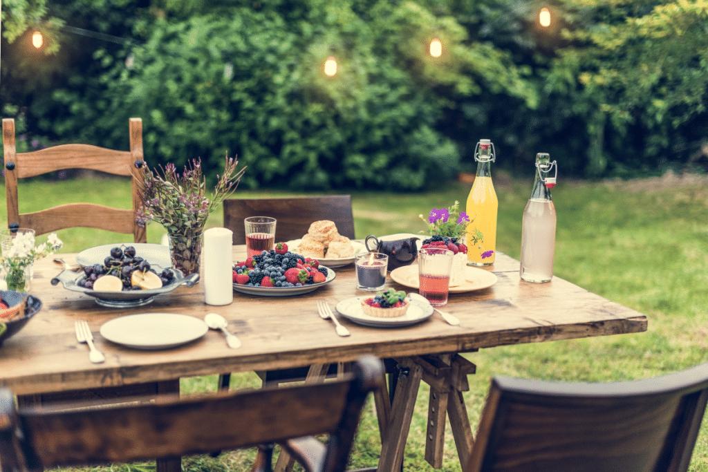 Des «Brunch Nature» dans un cadre verdoyant pour célébrer l'été tous les weekends de Juin !