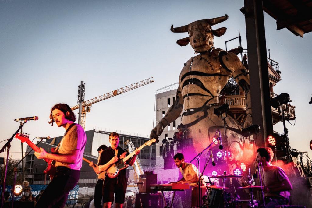 Expos, Concerts gratuits, Visites Aériennes à dos de Minotaure… Découvrez le Programme de Réouverture de la Halle de la Machine !