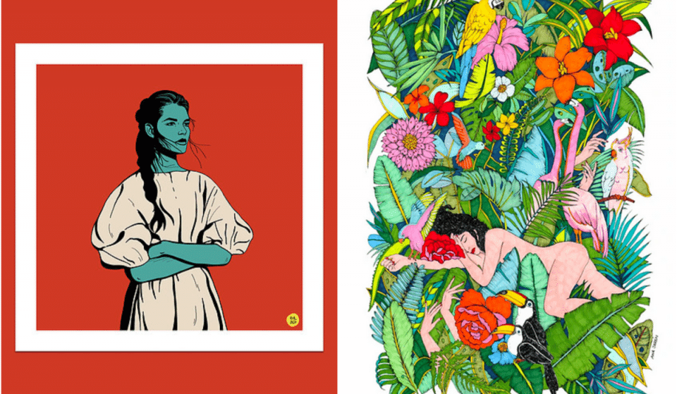 Au Nom Des Femmes : Une superbe Exposition Collective à voir toute la semaine à Toulouse !