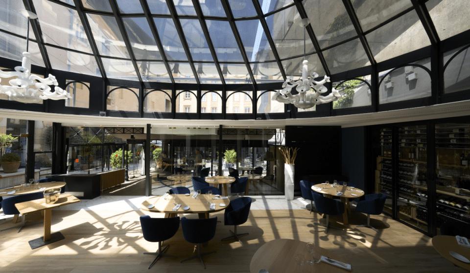Réouverture du Restaurant Gastronomique «Les Jardins de l'Opéra» sous une sublime verrière de la Place du Capitole