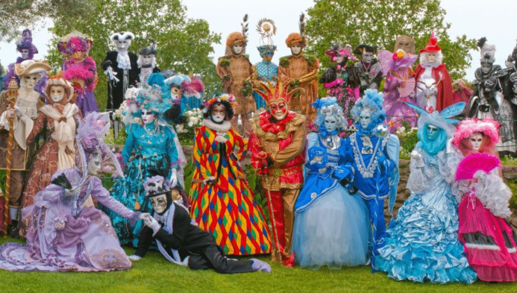 Toulouse : Le Carnaval de Venise s'invite au Château de Merville !