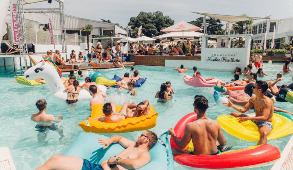 Toulouse : La Saison 2021 des «Brunch & Pool Party» à La Voile Blanche débutera le 4 juillet !
