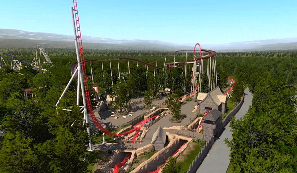 «Toutatis» : le Parc Astérix va dévoiler la plus haute et la plus rapide attraction de France !