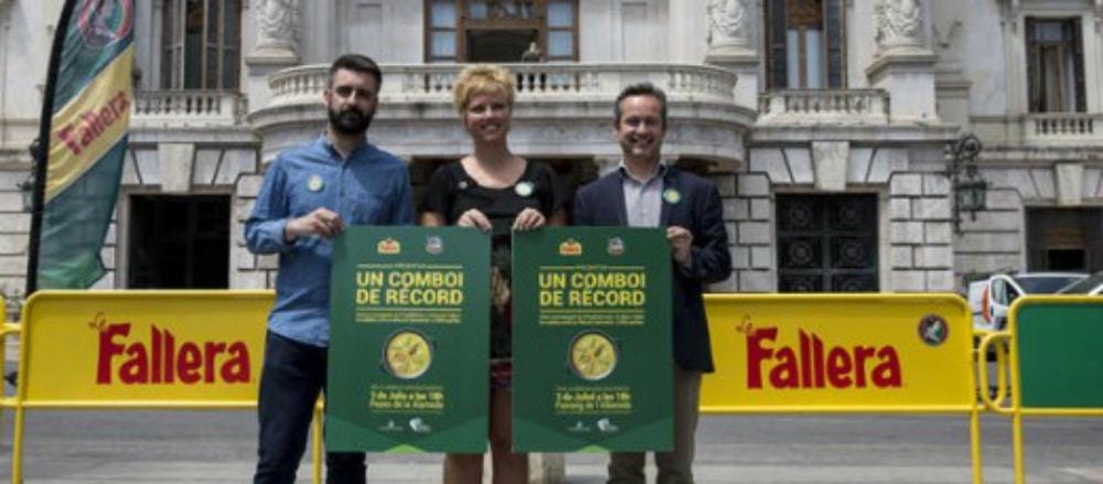 «Un comboi de récord»: Valencia se lanza a conseguir sus paellas más ambiciosas