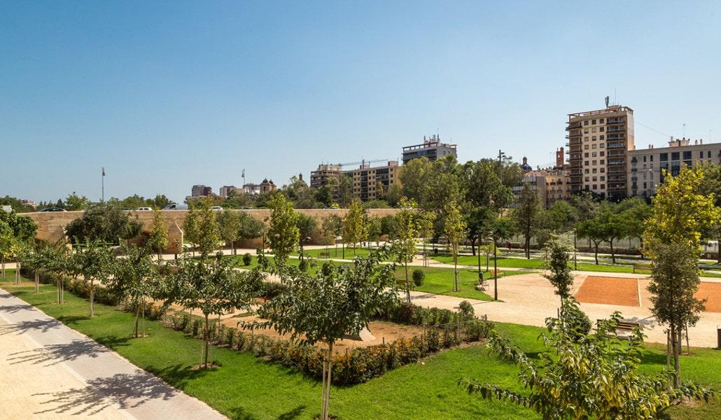 jardines del turia valencia