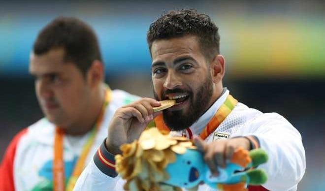 El primer oro paralímpico de Río es valenciano
