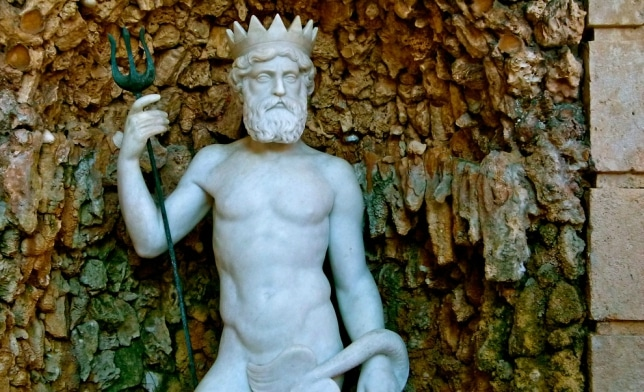 El curioso caso del Neptuno de los Jardines de Monforte