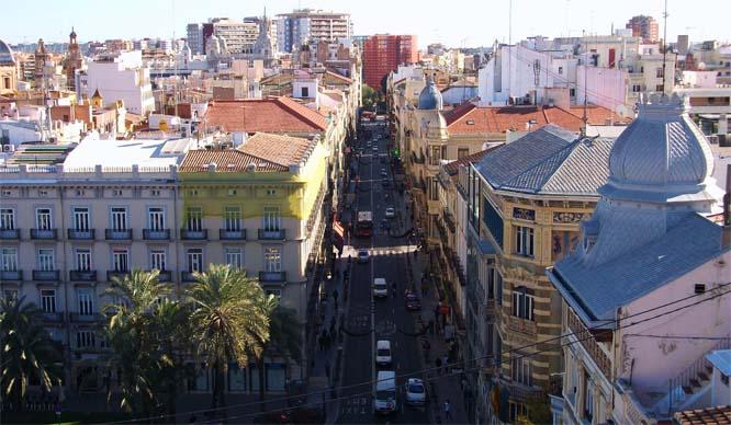 Las calles más bonitas de Valencia