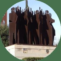 esculturas valencia: a la afición valencianista