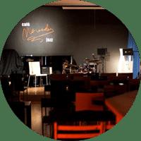 Escenario del Café Mercedes Jazz