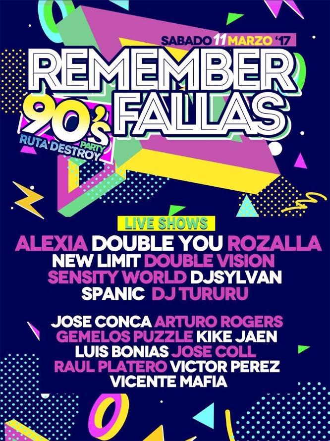 cartel remember fallas 2017