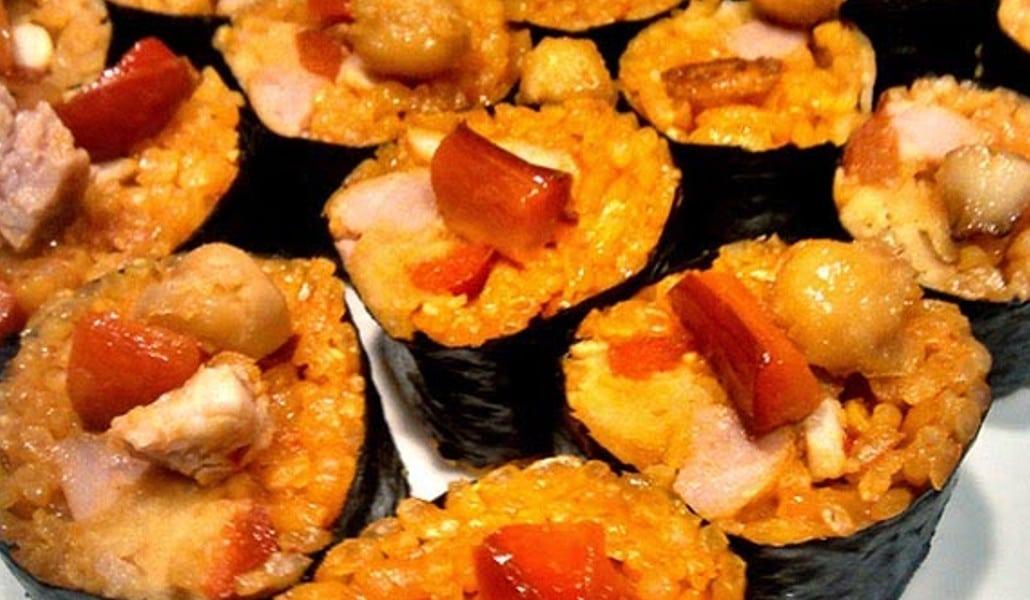 paella sushi