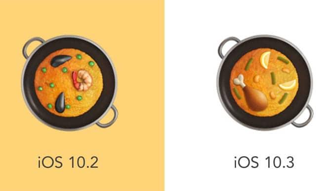 Antes y ahora | Fuente: emojipedia.org