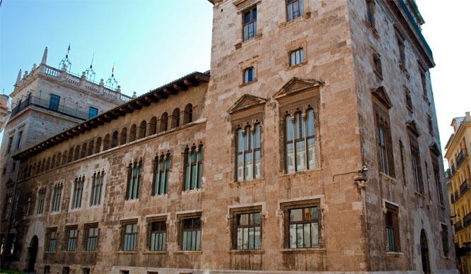 El Palau de la Generalitat Valenciana