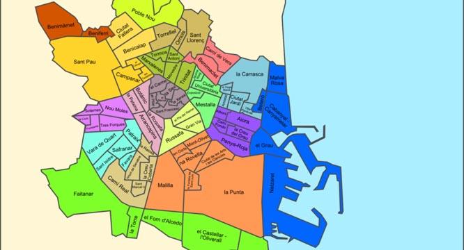 barrios de valencia