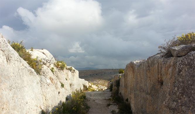 camino de los iberos por bocairent