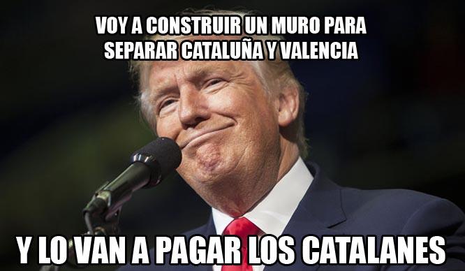 muro con cataluña