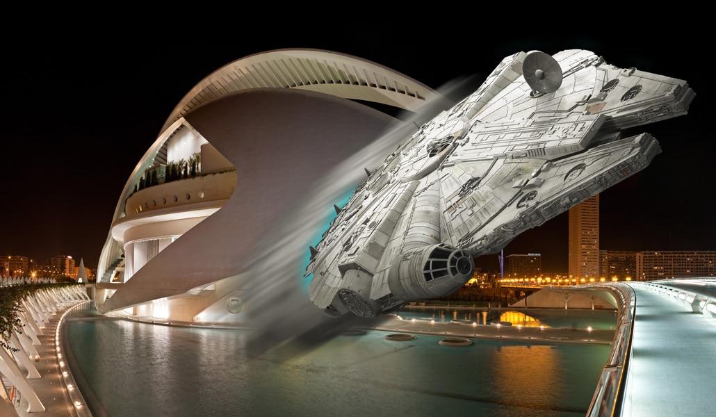 Una noche de fiesta en Valencia explicada por Star Wars