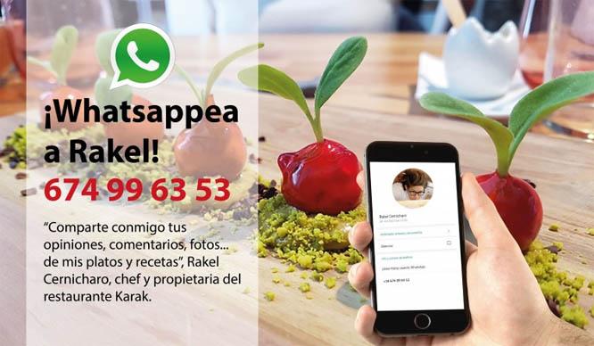 whatsapp rakel cernicharo