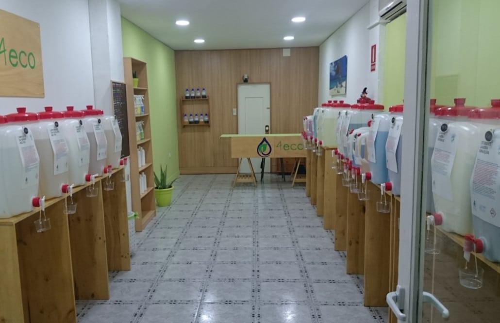 tiendas granel valencia detergente
