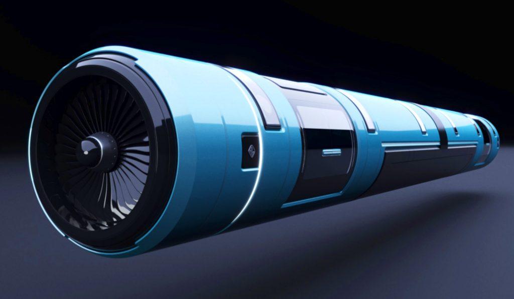 El tren supersónico Hyperloop ya se prueba en Valencia